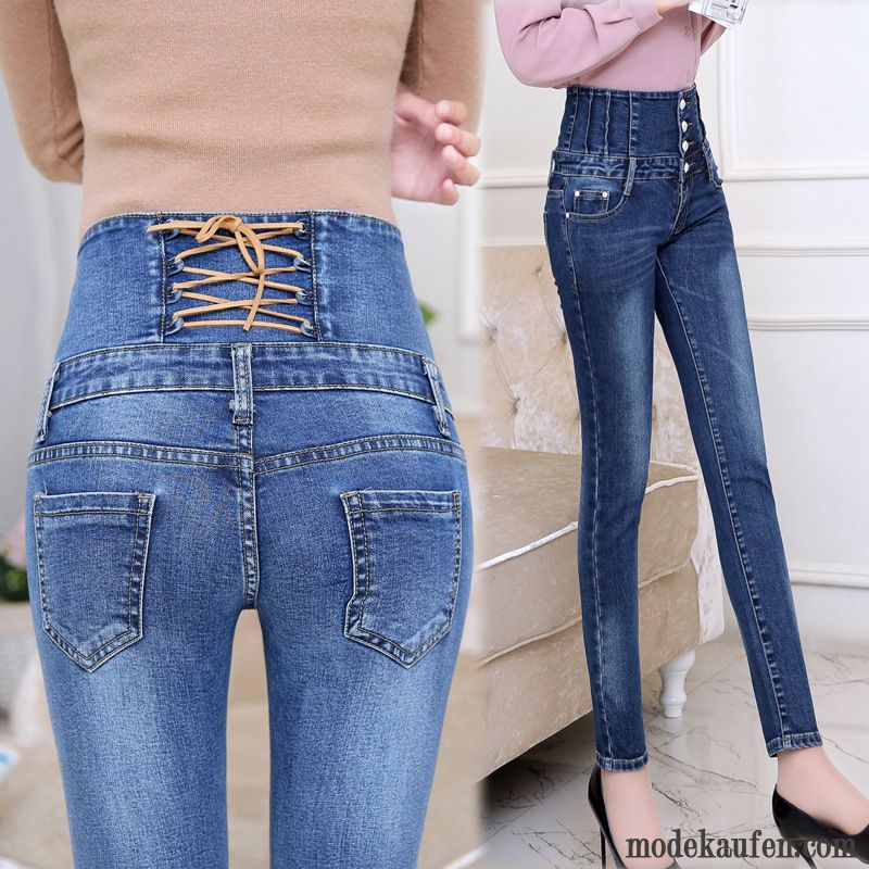 Jeans Destroyed Look Damen Sale, Helle Jeans Löchern Damen Braun