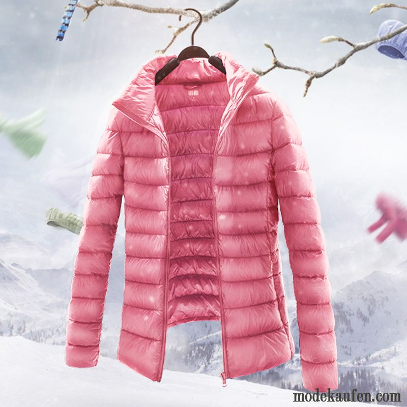 on sale c82a3 dca4d Rosa Daunenjacke Damen Daunenjacken Blond, Moderne ...